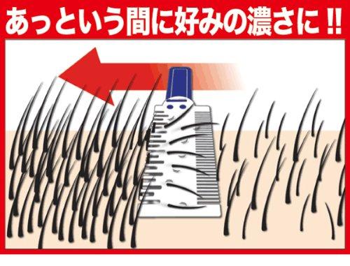ムダ毛ジョリーの好みの毛の量にすく方法