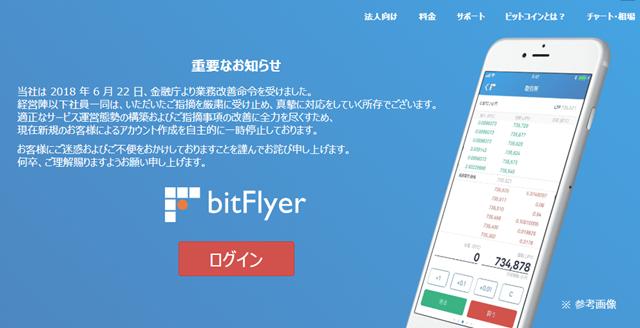 仮想通貨のフィンテック企業であるbitflye